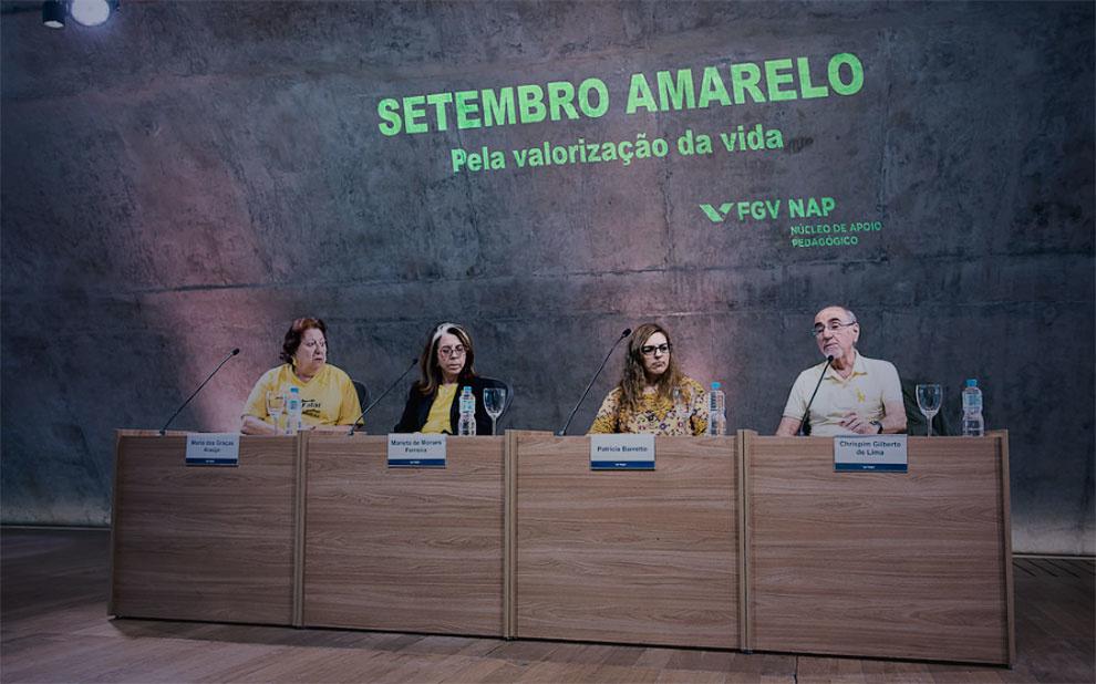 Campanha Setembro Amarelo promove ações de conscientização e valorização da vida