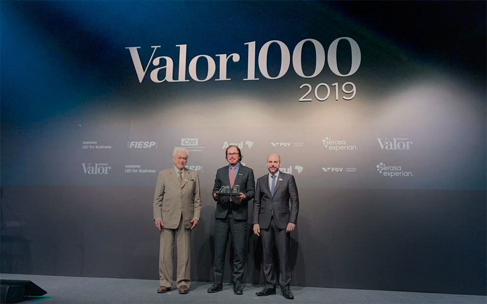 Valor 1000: event celebrates Brazil's best companies