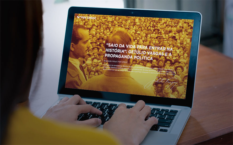 FGV launches virtual exhibit on Getúlio Vargas and Political Propaganda