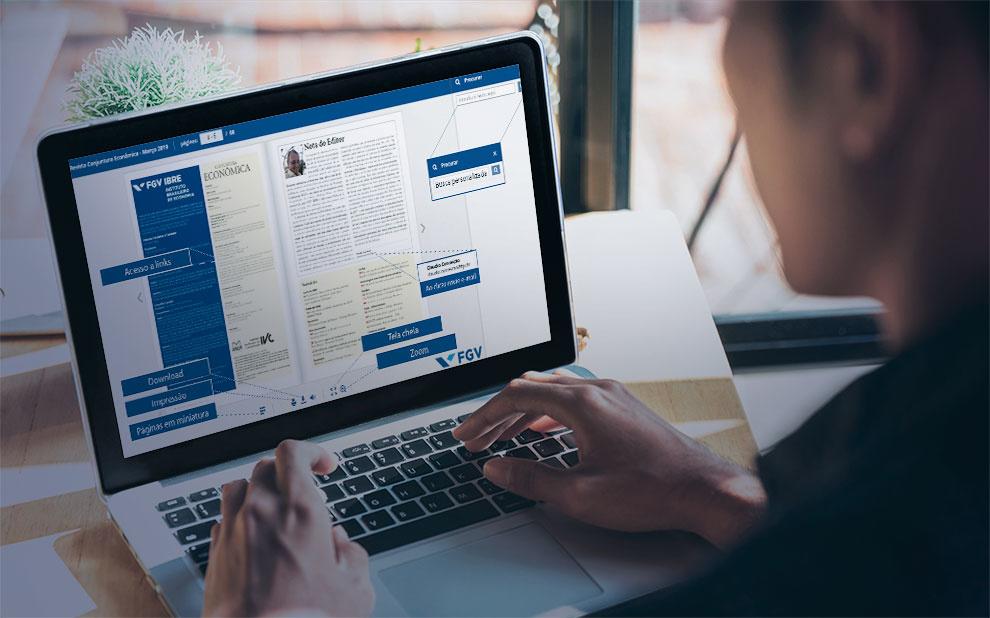 Revista Conjuntura Econômica ganha nova versão digital