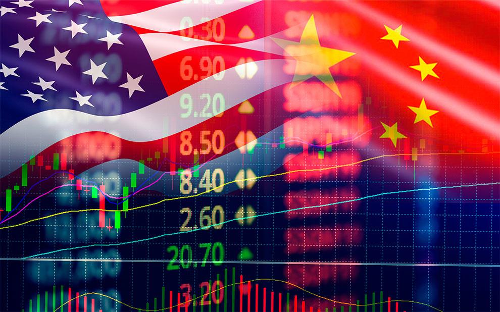 Tensão entre Estados Unidos e China e desaceleração da economia mundial aumentam incerteza em setembro de 2019