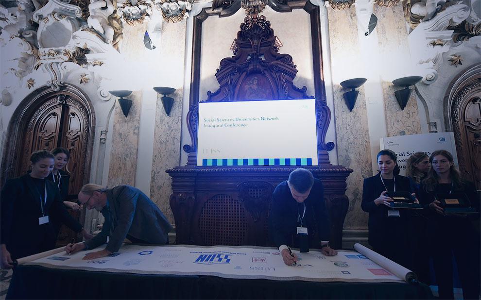 Rede internacional de universidades de Ciências Sociais é lançada em Roma