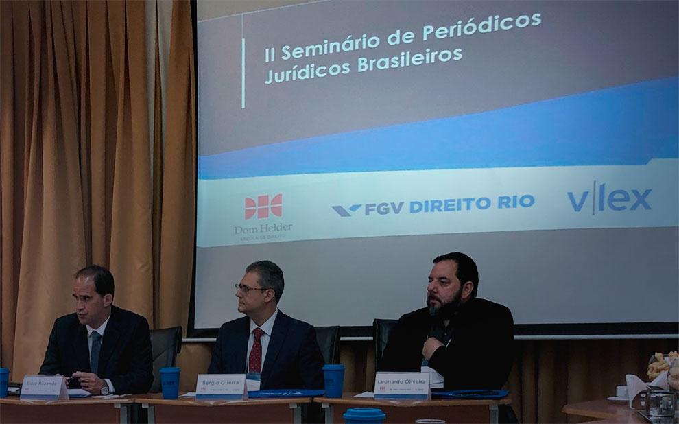 Seminário reúne editores das principais revistas científicas de Direito do Brasil