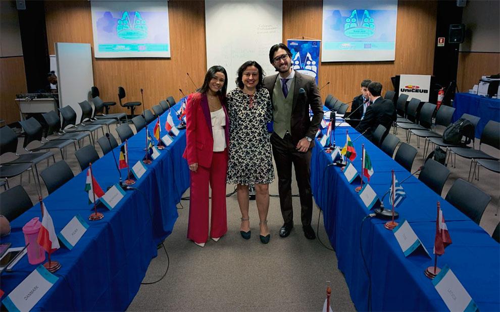 Estudantes de Direito participam de simulação do Conselho da União Europeia