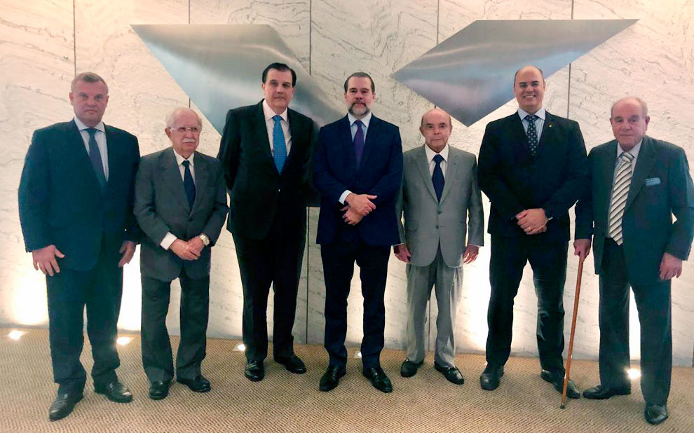 FGV hosts lunch in honor of Federal Supreme Court Chief Justice Dias Toffoli