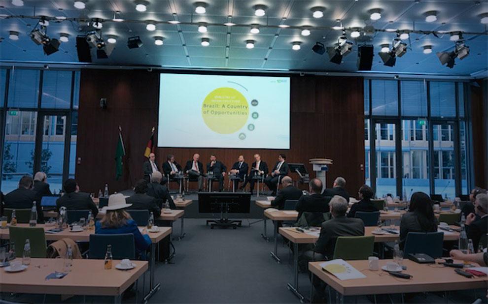 FGV Europe organiza visita do Ministro de Infraestrutura, Tarcísio Gomes de Freitas, à Alemanha