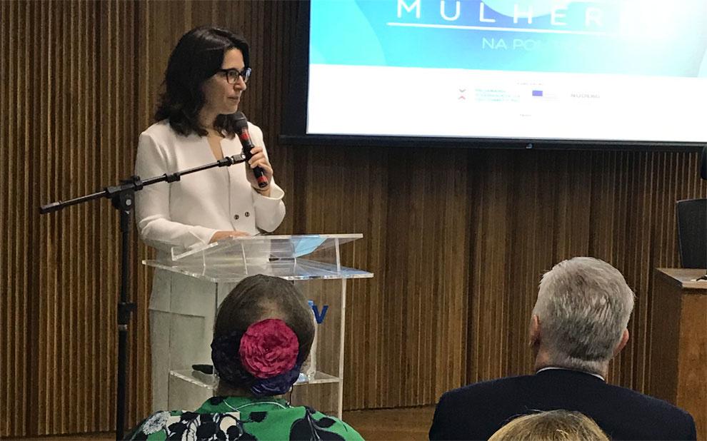 Convidada internacional e especialistas debatem participação feminina na política