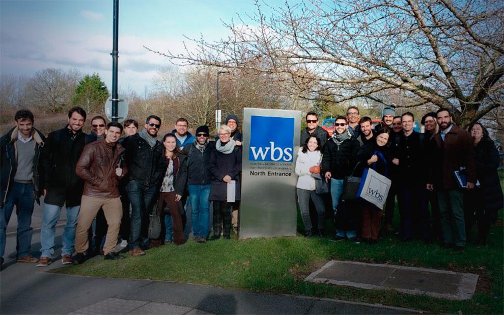 Mestrandos em Administração participam de módulo internacional no Reino Unido