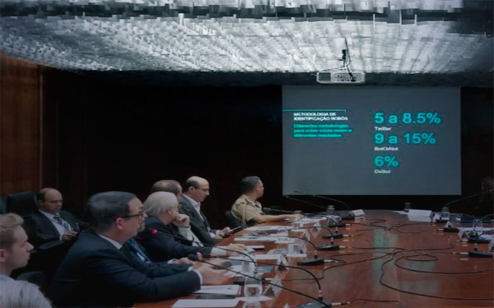 Bot use is discussed at International Security Conference prep meeting