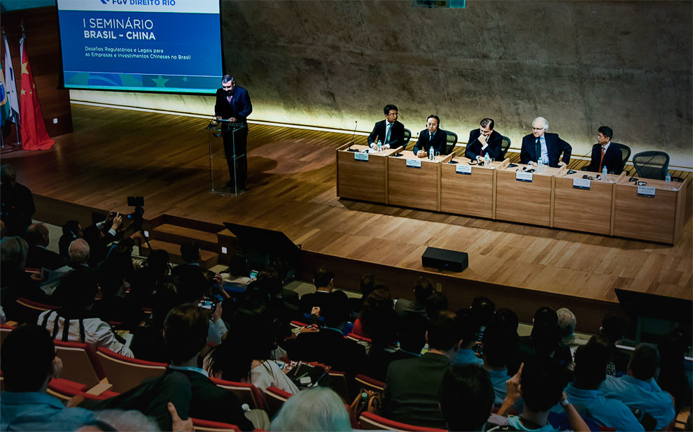 Event discusses Chinese investments in Brazil and their regulatory challengesEvent discusses Chinese investments in Brazil and regulatory challenges
