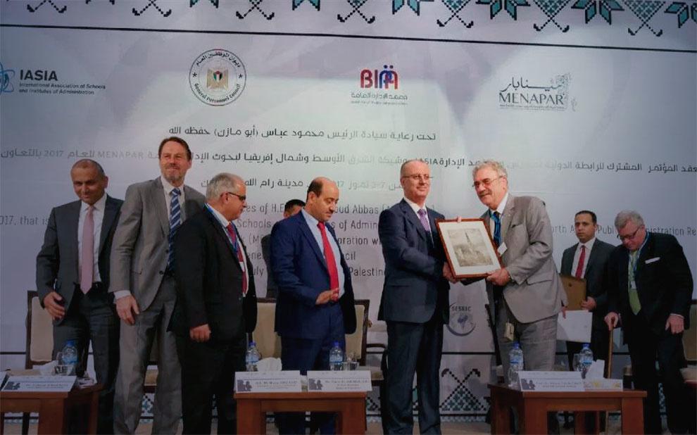 Conferência na Palestina debate papel da Administração Pública em Estados pós-conflito