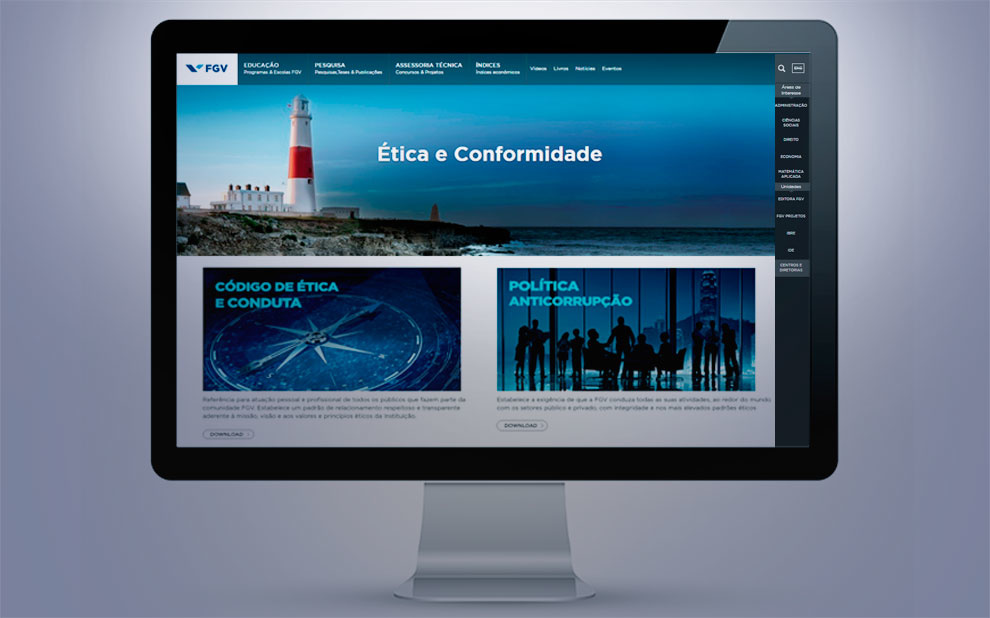 FGV launches Ethics and Compliance website