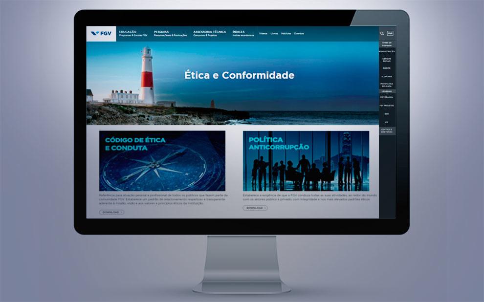 FGV lança site sobre Ética e Conformidade