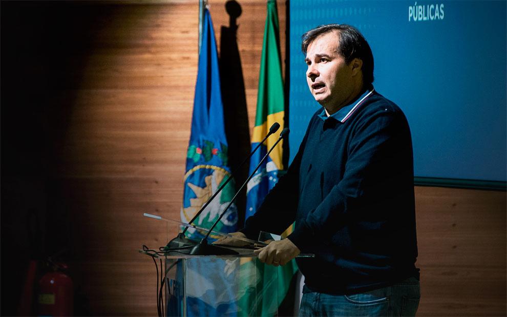 Rodrigo Maia: 'Brasil precisa mudar para crescer e gerar empregos'
