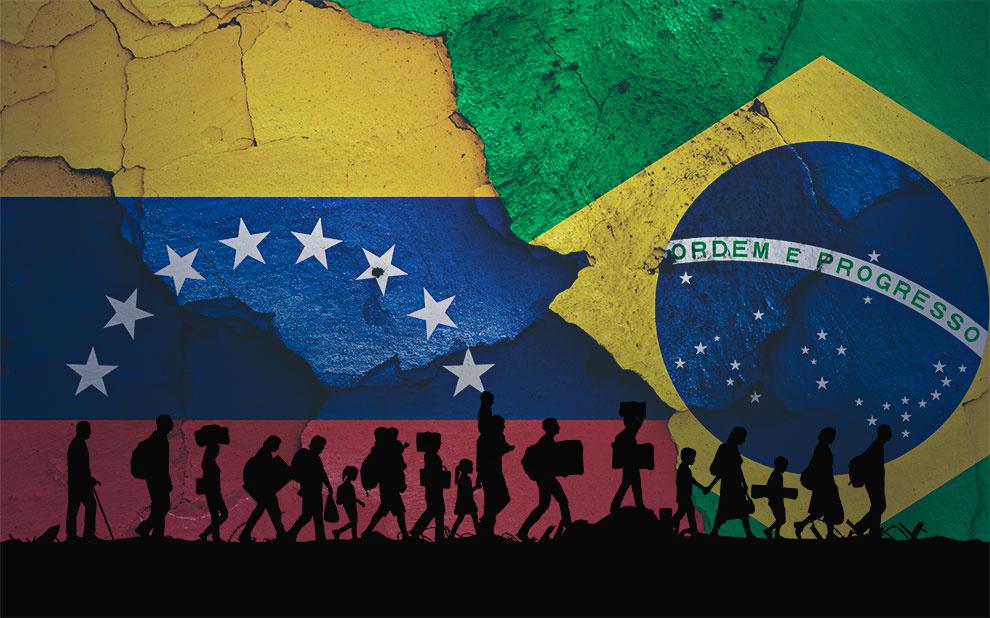 Análise de redes sobre imigrantes venezuelanos soma 58,9 mil menções