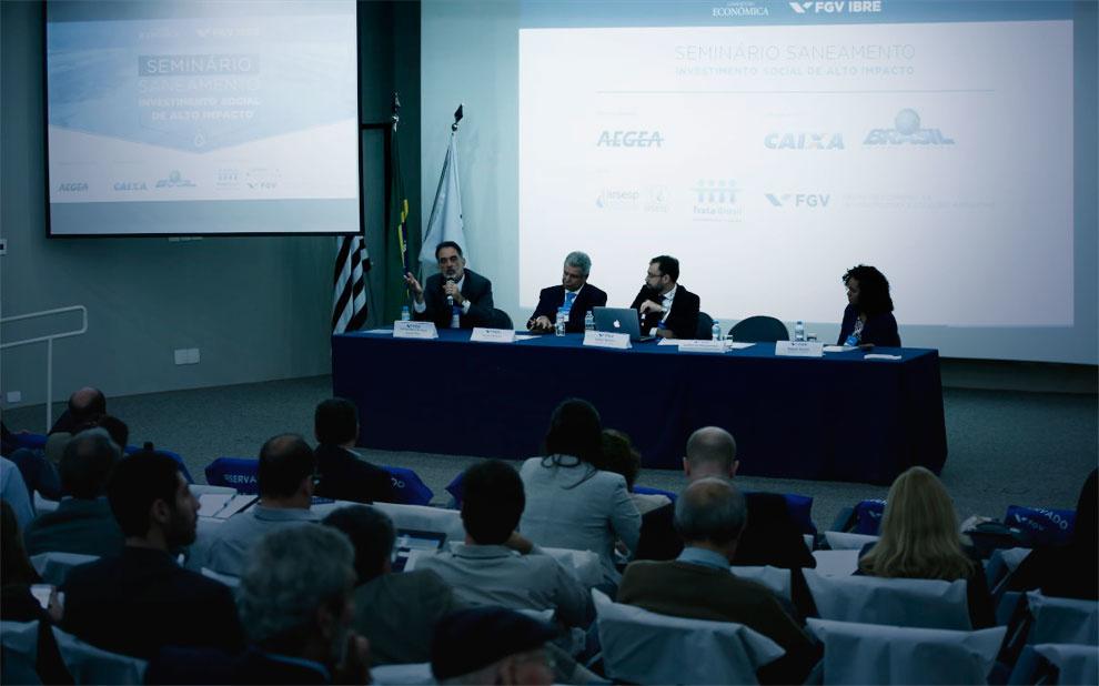Entraves e desafios para expansão do saneamento no Brasil são debatidos em seminário