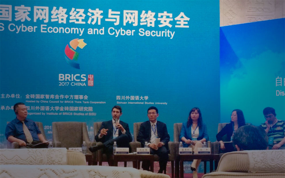 Cybersecurity is debated at BRICS Think Tank Symposium, in China
