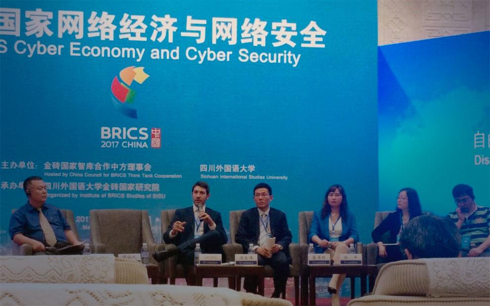 Cibersegurança é debatida durante BRICS Think Tank Symposium, na China