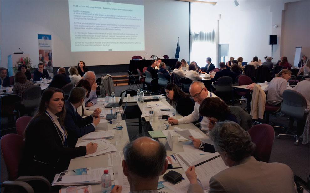 Pesquisadora do NPII participa de encontro global da rede Jean Monnet