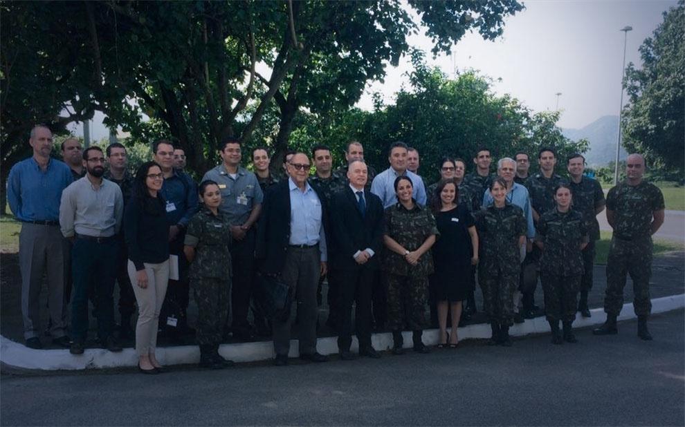 FGV leciona curso de Gestão da Inovação Tecnológica para oficiais do Exército Brasileiro