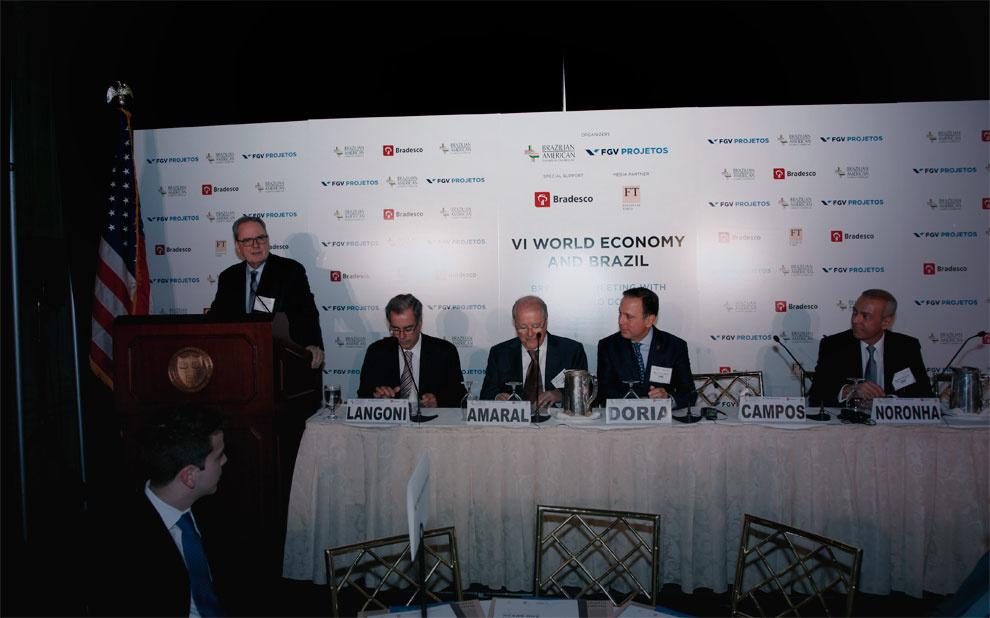 FGV promove evento em Nova York com lideranças, empresários e investidores internacionais