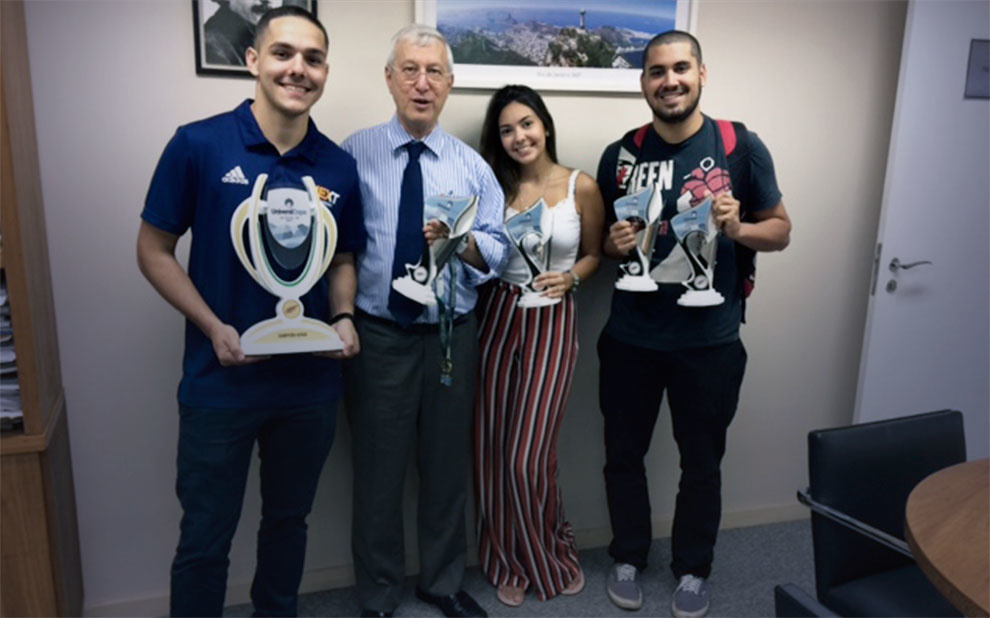 Atlética FGV conquista torneio interestudantil em Minas Gerais
