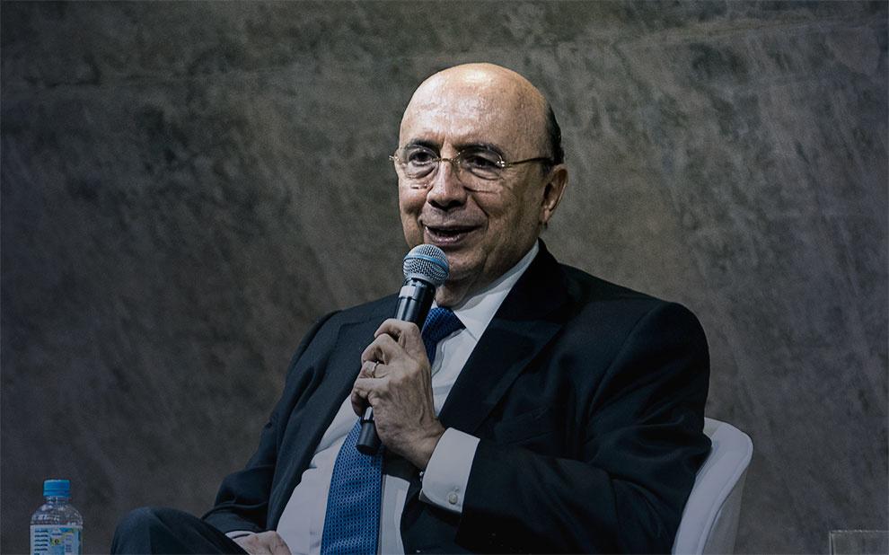 Ministro da Fazenda palestra para alunos de graduação em São Paulo