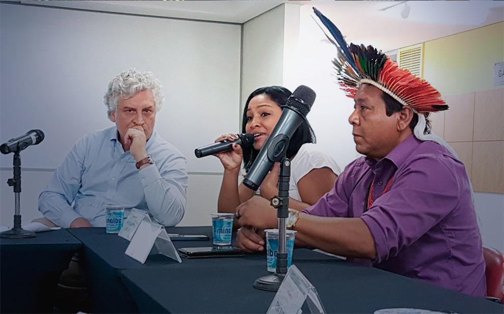 Evento debate direitos dos povos indígenas