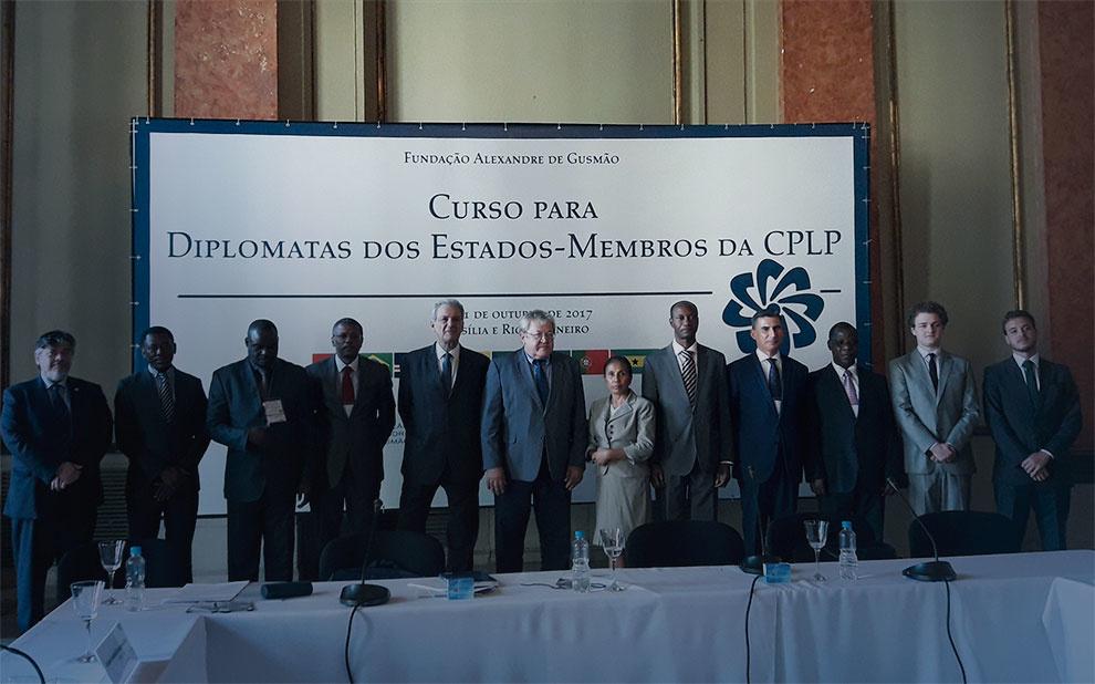 Diplomatas da Comunidade de Países de Língua Portuguesa participam de curso de capacitação